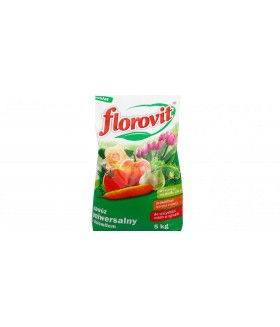 FLOROVIT (ФЛОРОВИТ) универсальное садовое удобрение-удобрение  с доломитом, 5 кг.