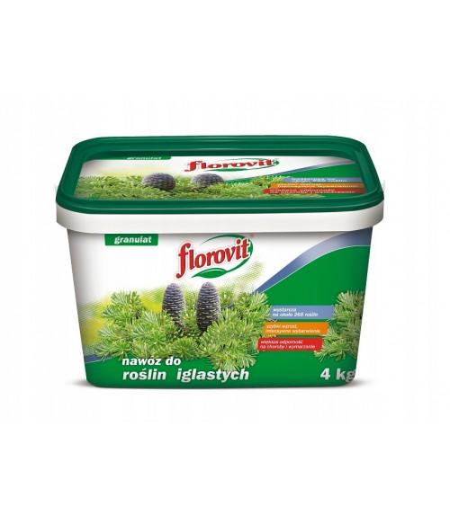 FLOROVIT (ФЛОРОВИТ) для хвойных растений, ведро, 4 кг.