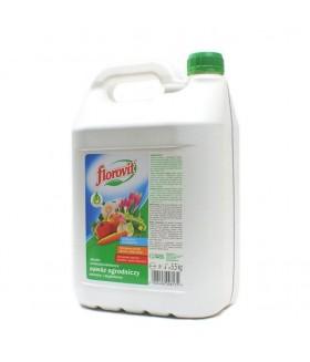 FLOROVIT (ФЛОРОВИТ) Удобрение  жидкое комбинированное FLOROVIT 5,5 л.