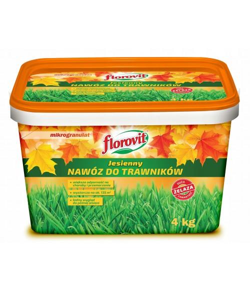 FLOROVIT (ФЛОРОВИТ) Для газонов c большим содержанием железа, ведро, 4 кг